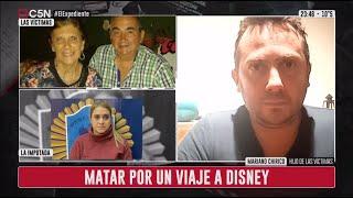 Una mujer policía asesinó a un matrimonio en Parque Avellaneda: habló el hijo de las víctimas