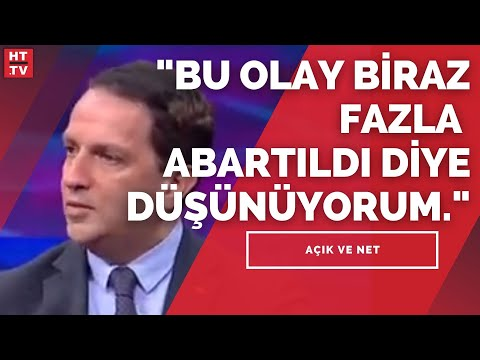"""""""Sayın Boynukalın değerli bir hocamızdır. Fakat görüşleri AK Parti'yi bağlamaz"""""""