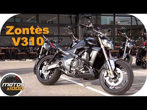 Presentación Zontes V310 | Motosx1000
