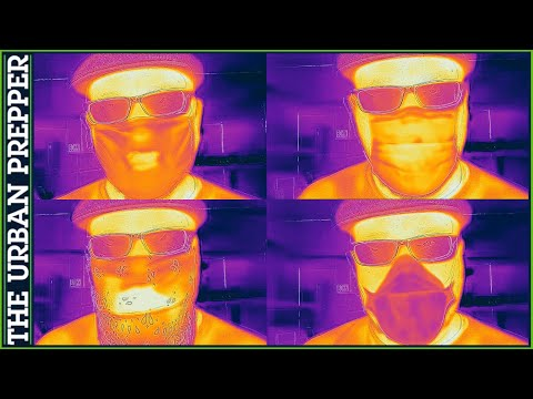 What Masks Look Like In Thermal