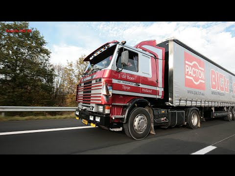 Oldskool Trucking: Driving a Scania142 V8