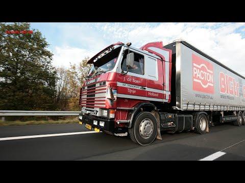 Oldskool Trucking: Driving a Scania142 V8
