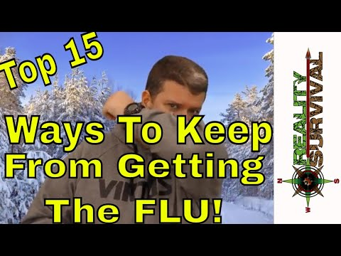 Top 15 Ways To Reduce Your Chances Of Getting The Flu!