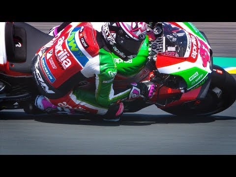 2018 French GP - Aprilia in action