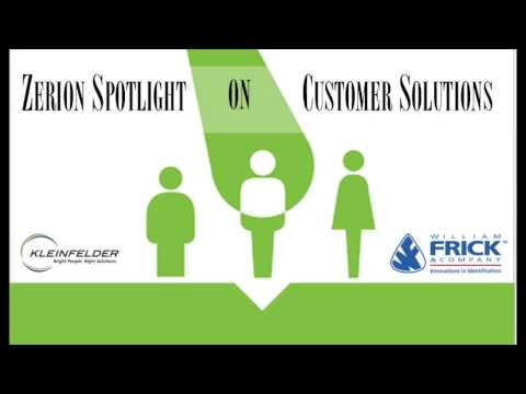 Zerion Spotlight on Customer Solutions