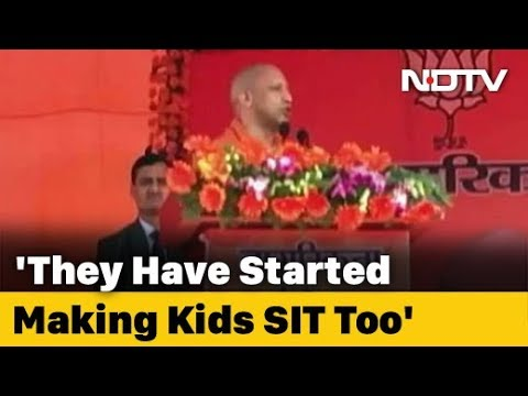 """""""Where Are The Men?"""" Yogi Adityanath's Swipe At Shaheen Bagh Protesters"""