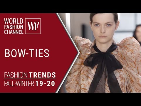 BOW-TIES FASHION TRENDS FALL-WINTER 19-20