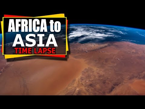 connectYoutube - From Africa To Asia - Time Lapse Video From The International Space Station