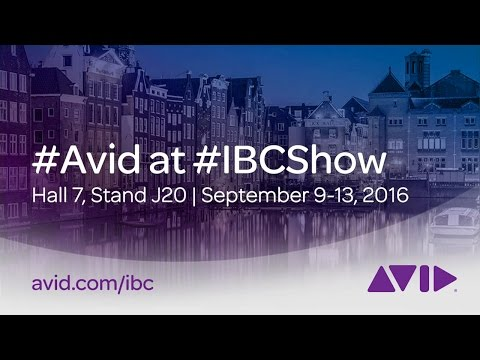 #Avid at #IBCShow