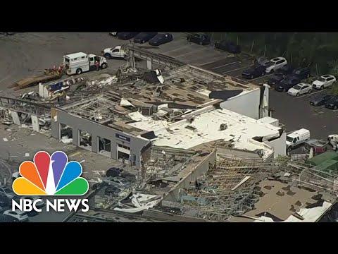Tornado Damage Across Multiple States