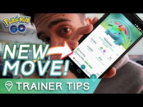 connectYoutube - BREAKING NEWS: VENUSAUR'S EXCLUSIVE NEW MOVE IS FRENZY PLANT | Pokémon GO Community Day