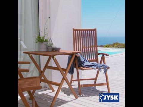 Forårets trend: Haveborde og havestole i  træ | JYSK