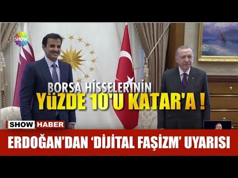 Erdoğan'dan 'dijital faşizm' uyarısı