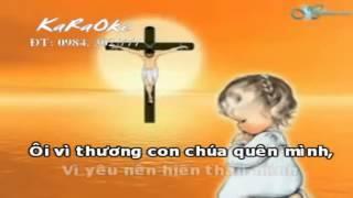 Karaoke Tình Chúa Cao Vời - Phan Đình Tùng - Karaoke Thánh Ca - Phan Đình Tùng