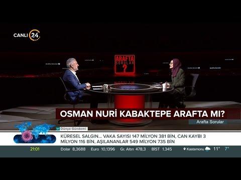 Arafta Sorular /AK Parti İstanbul İl Başkanı Osman Nuri Kabaktepe – 25 04 2021