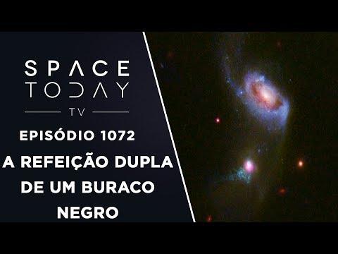 A Refeição Dupla de Um Buraco Negro - Space Today TV Ep.1072 #AAS231