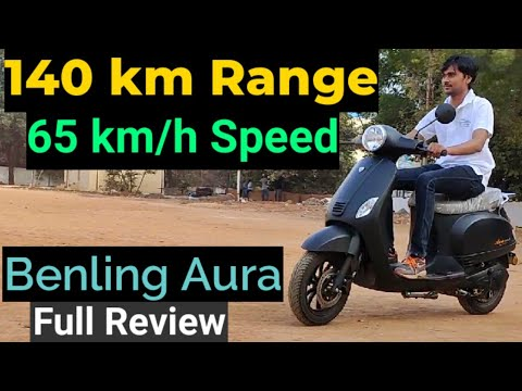Benling India's High Speed Electric Scooter Aura Full Review