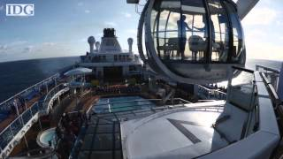 New cruise ship a floating heaven for tech geeks