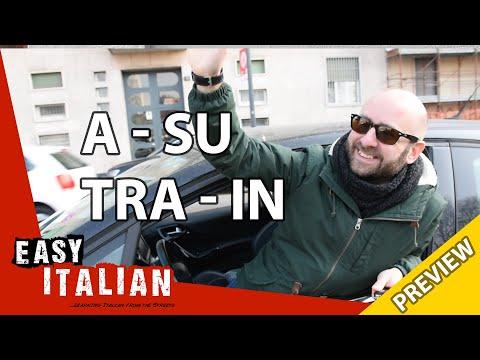 Italian prepositions: a, su, tra, in (Trailer) | Easy Italian 7 photo