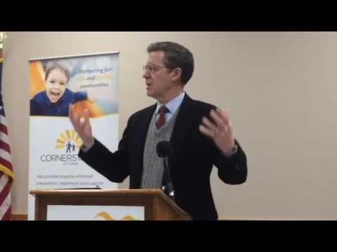 Gov. Sam Brownback speaks about Salina projects