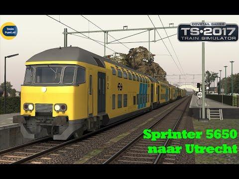 Sprinter 5650 naar Utrecht met een vliegend eind | NS DDAR + 1741 | Train Simulator 201