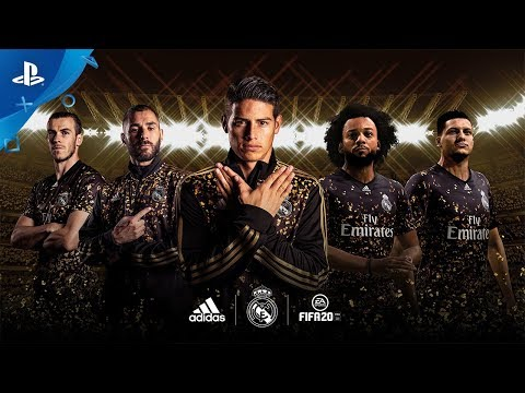 FIFA 20 - EA SPORTS x adidas Real Madrid Limited Edition Jersey Reveal | PS4