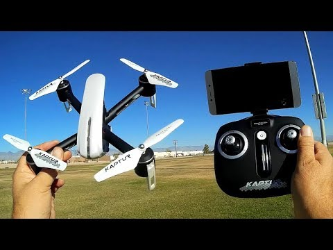 Protocol Kaptur GPS FPV Camera Drone Flight Test Review