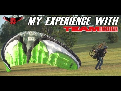 How I got Started in Powered Paragliding & My Experience With BlackHawk Paramotors USA