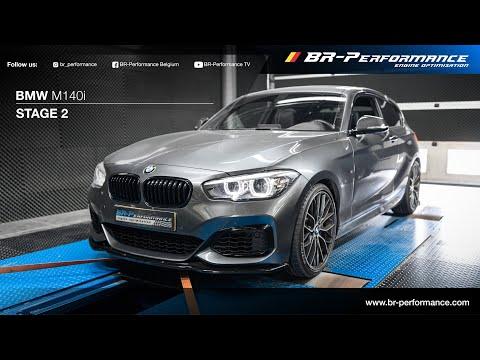 BMW M140i / Stage 2 By BR-Performance / MILLTEK exhaust