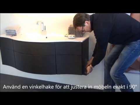 Justera lådorna för ditt JOY badrumsskåp | Svedbergs Service