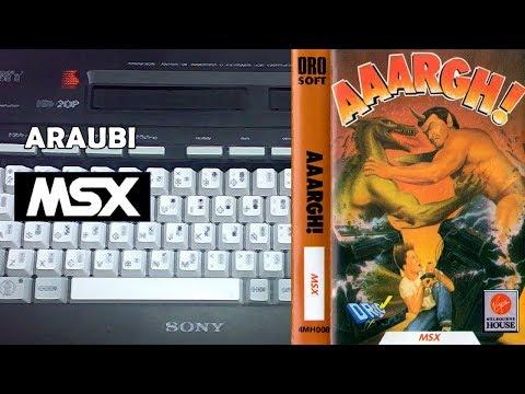 Aaargh! (Animagic, 1989) MSX [639] Walkthrough Comentado