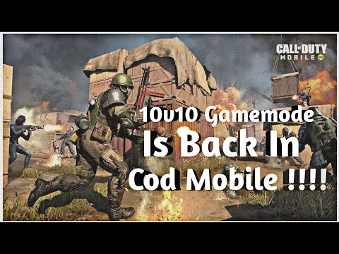 10v10 Gamemode Is Back in Call of duty mobile !!