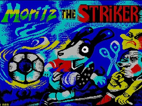 RETROJuegos Homebrew ... Moritz The Striker - ZX Spectrum - Review por Fabio Didone
