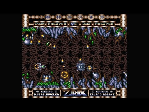 Ziriax (1990) - Ultimate Edition (2018) | Amiga | Gameplay