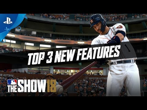 MLB The Show 18 – Top 3 Additions | PS4