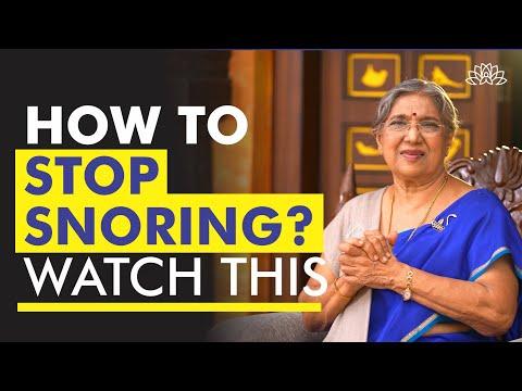 How to Stop Snoring? | Dr. Hansaji Yogendra