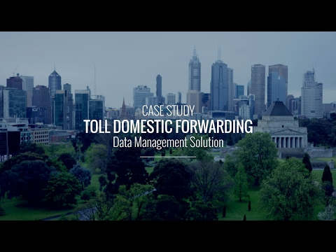 SMS Success Story - Toll Domestic Forwarding Data Solution