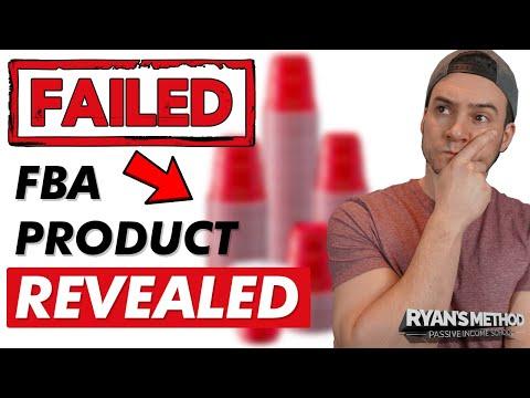 My FAILED Amazon FBA Product (REVEALED)… AVOID THIS MISTAKE!