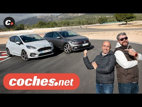 Ford Fiesta ST vs Volkswagen Polo GTI | Comparativa / Prueba / Test / Review en español | coches.net