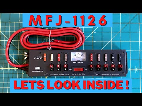 How well built and constructed is the  MFJ1126, lets take a look and open it up!