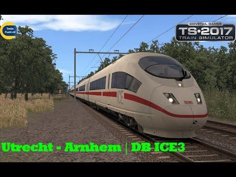 Utrecht - Arnhem  | DB-ICE3 | t Hart van Nederland Beta 8.5 | Train Simulator 2017