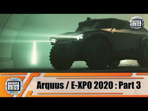 ARQUUS from France presents Scarabee new hybrid light wheeled armored vehicle Virtual Defense E-XPO