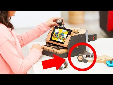 connectYoutube - Nintendo Labo Reveal Trailer: EVERY DETAIL ANALYZED