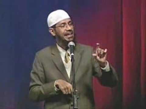 Dr. Zakir Naik - Does God exist?