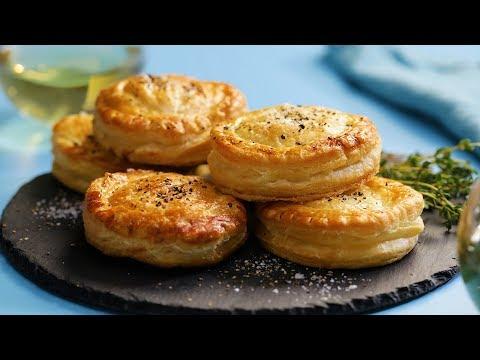 The BEST Biscuits Ever | Chicken Pot Pie Biscuits