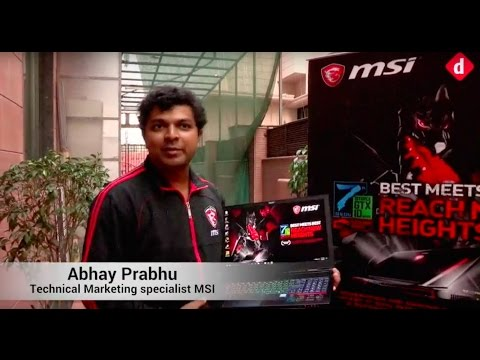 MSI 2017 Gaming Laptops Launch Event   Digit.in