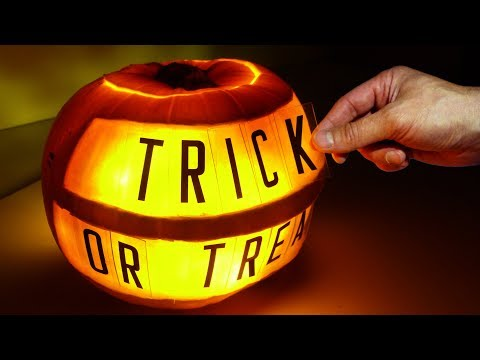 Halloween Pumpkin Message Board