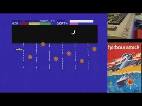 Juegos Épicos - Harbour Attack - Commodore 64 real