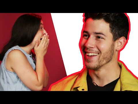 Surprise Staring Contest With Nick Jonas