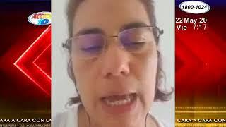 Elvira Cuadra habla sobre las sanciones a funcionarios Nicaraguenses